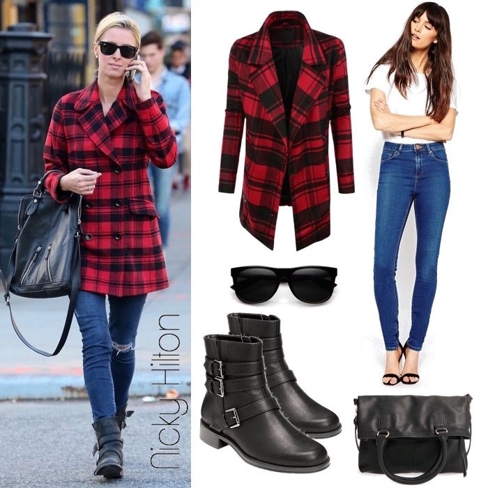 Nicky Hilton Look for Less: