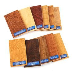 General Finishes Gel Stain colors