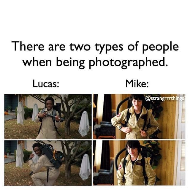 "2,469 Likes, 44 Comments - Stranger Things (@strangrrrthings) on Instagram: ""+ I'm Mike lol - Going to school now - Have a nice day!! -"""