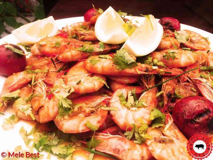 Het recept van mijn chili knoflook garnalen inclusief ingrediënten en video. Succes met de bereiding en eet smakelijk!