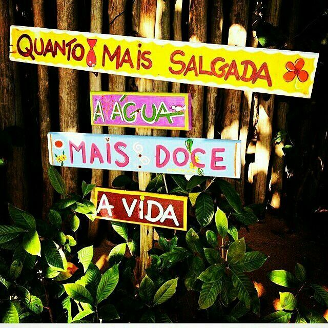 Um lema a seguir! Instagram @beach #beach #beach #frases #ficaadica   – I love quotes