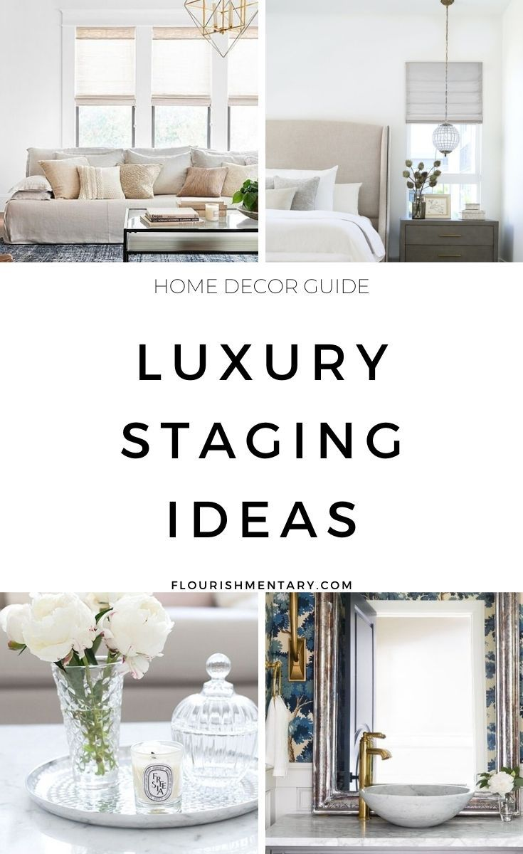 Luxury Staging Ideas To Borrow From High End Homes In 2020 Classic Living Room Decor Home Decor Inspiration Classic Living Room