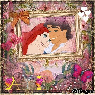 ariel y el principe eric Picture #130309322   Blingee.com