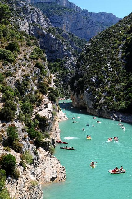 France Gorges du Verdon, the Grand Canyon of France!!! Gorgeous!!