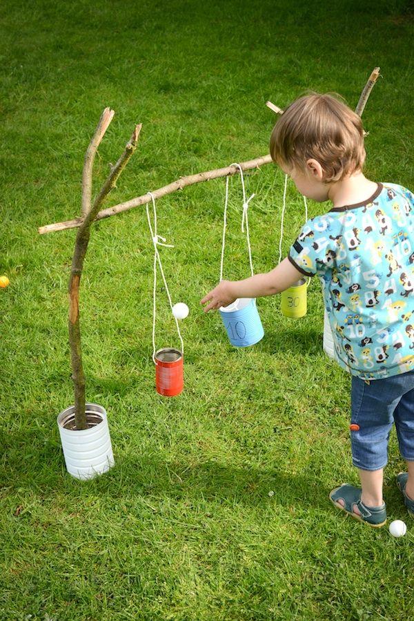 DIY Blik : Blitse Blikkenvangers buitenspel voor kids | Moodkids
