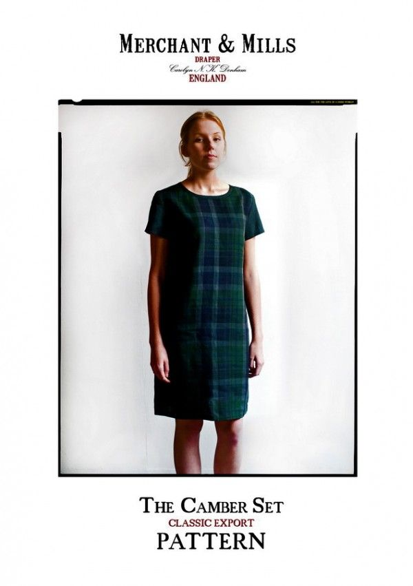Camber set dress making pattern by Merchant and Mills