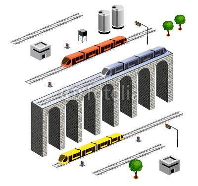 isometric Railroad