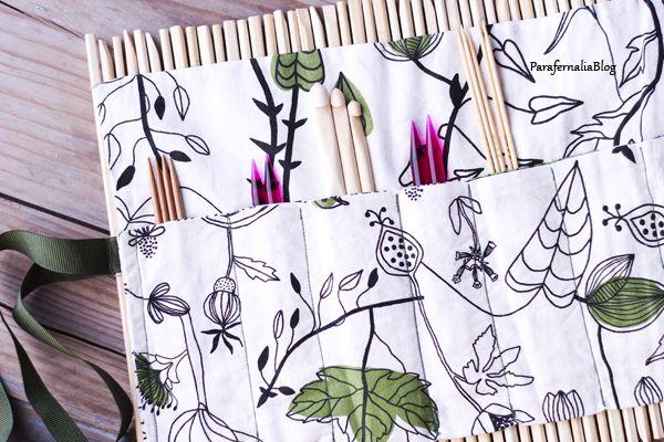 DIY Estuche con palillos by ParafernaliaBlog / DIY with recicled chopsticks