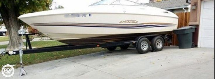 This is a fresh water boat ready to hit the water today!!! Trailer included!!