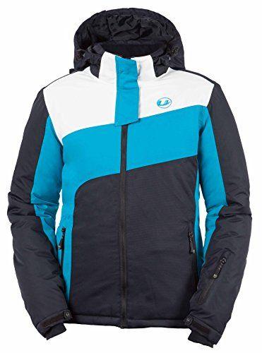 Ultrasport Damen Ski Jacke Kitzbühel türkis/weiß/schwarz L 10373