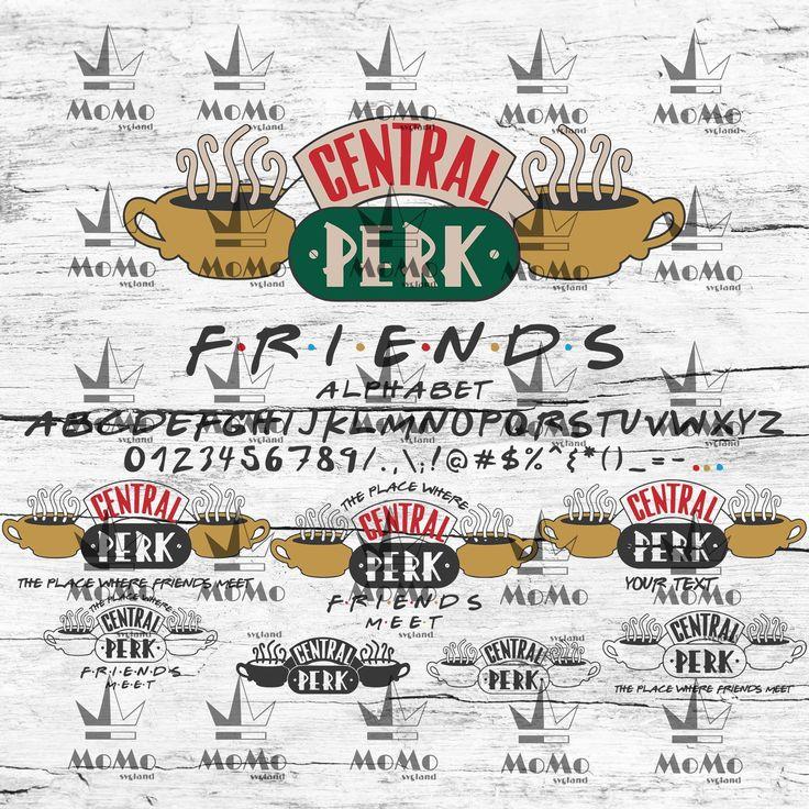 Central Perk Logo Svg, Central Perk Svg, Coffee Logo