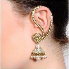 Indian traditional earring, jhumka