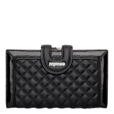 I want something like this. A large travel wallet as an every day purse :) Mimco Quilted Travel Wallet