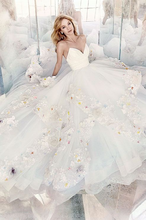 Fresh, lively, and confident, Hayley Paige embraces sweet femininity with a touch of edginess. Hayley Paige Spring 2016 Wedding Dress Collection