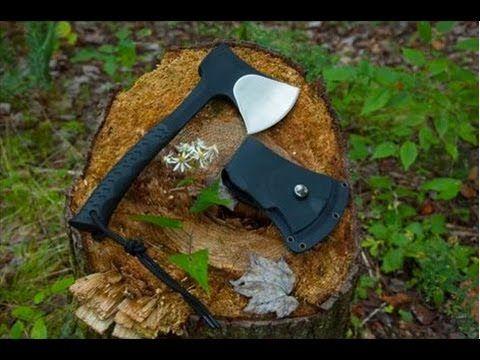 NEW! Schrade SCAXE10 Camp Hatchet – Best Hatchet for Backpacks