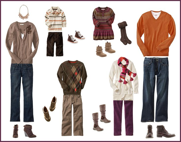 59 best images about what to wear family portraits on Fall family photo clothing ideas