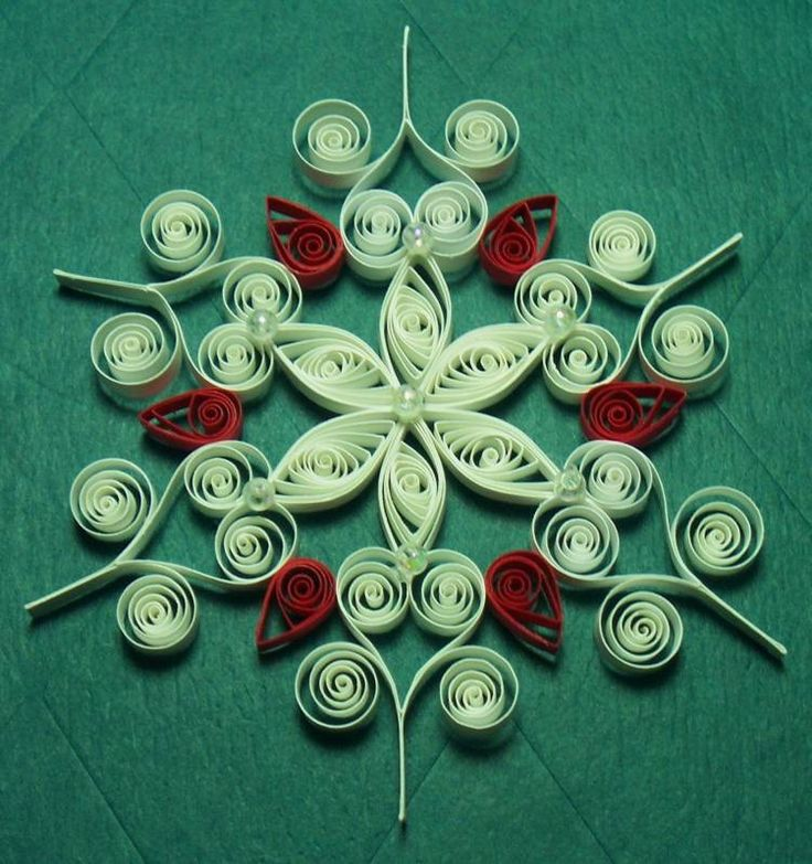 Snowflake H - Quilled Creations Quilling Gallery