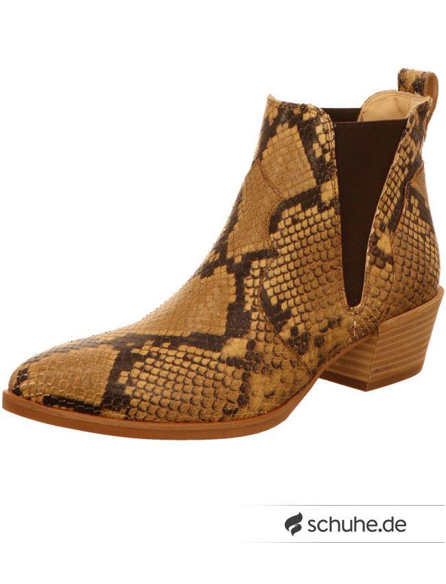 Mega stylisch sind diese cowboyartigen Chelsea Boots der