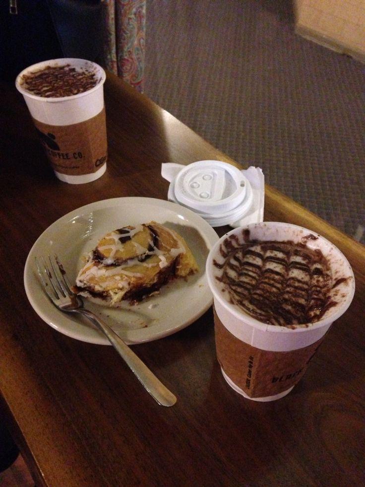 Hot chocolate with my bestie!