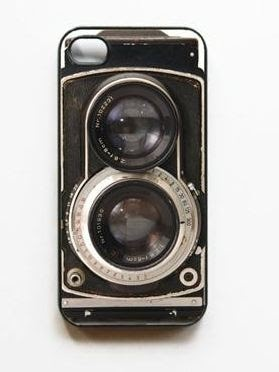 Über-Wishlist: iPhone Case - Retro Twin Reflex Camera