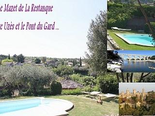 Zwischen Uzès und dem Pont du Gard in Collias: Ferienhaus + Pool +Fluss Ferienhaus in Collias von @homeaway! #vacation #rental #travel #homeaway