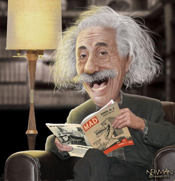 Albert Einstein - MAD Scientist
