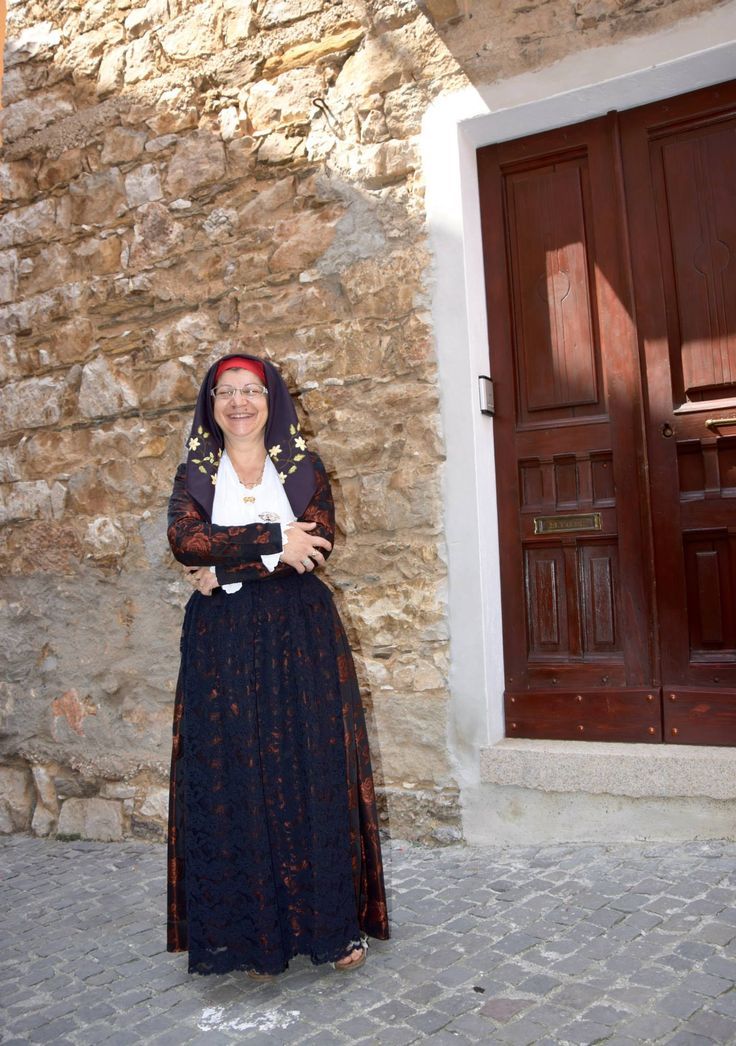Traditional dress of Baunei, Ogliastra, Sardinia