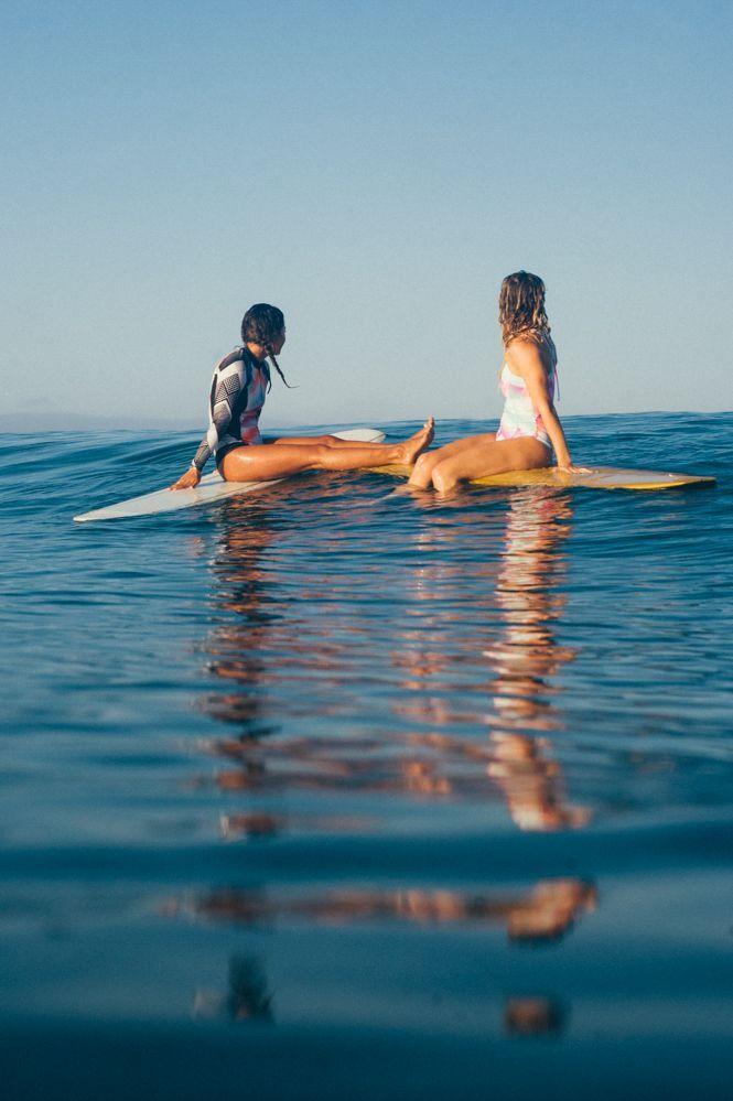 Kelia Moniz and Bruna Schmitz Drifting through the weekend #POPsurf roxy.com/pop… – Ghost Face