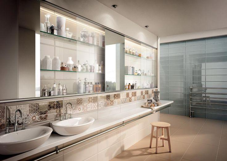 PIASTRELLE DOLCEVITA, bagno moderno ceramica bicottura # ...