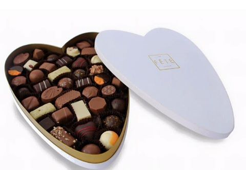 The Valentines Collection from La Fête. Say it with chocolate. #lafetechocolat