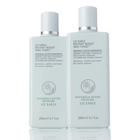 212060 Liz Earle Instant Boost Skin Tonic Duo  QVC Price:£27.00 + P&P: £4.95 Available on Waitlist 4 Easy Pay instalments of  £6.75, plus P&P