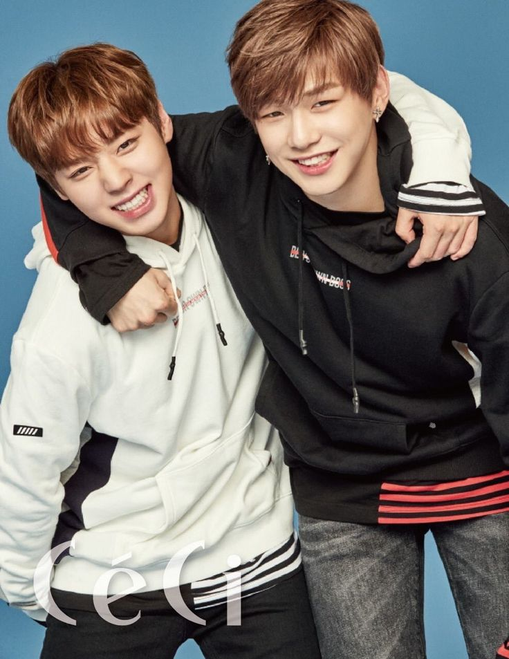 Ceci X Wanna One Members Jihoon and Daniel