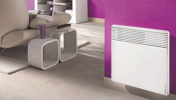 atlantic f117P elektromos radiátor jól mutat otthonában!