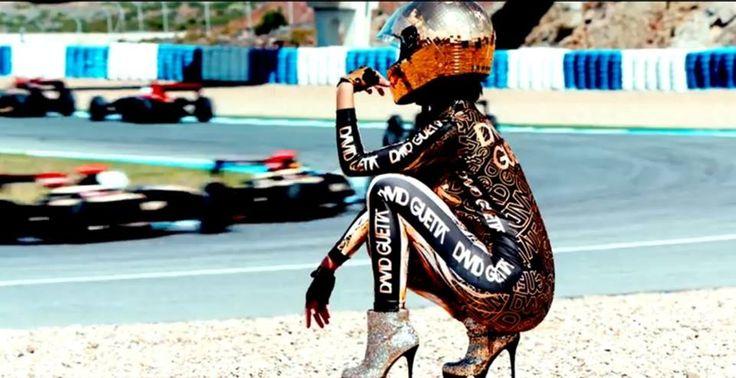 "Still image from videoclip ""Dangerous""  by David Guetta"