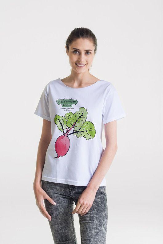 bluzki - t-shirty - damskie-BURAK Oversize T-shirt