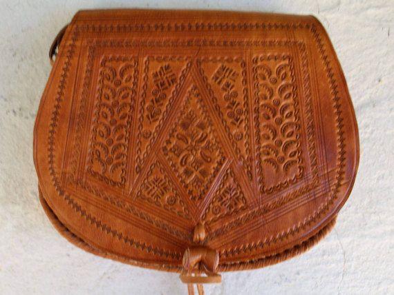 Leather Saddle Bag Cross Body Bag Leather Bag Cross-body