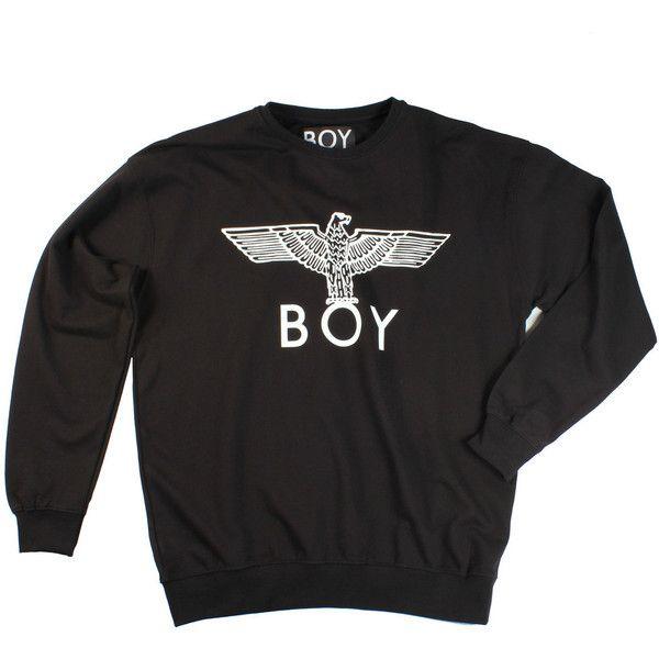 Boy London Eagle Sweatshirt / Black found on Polyvore