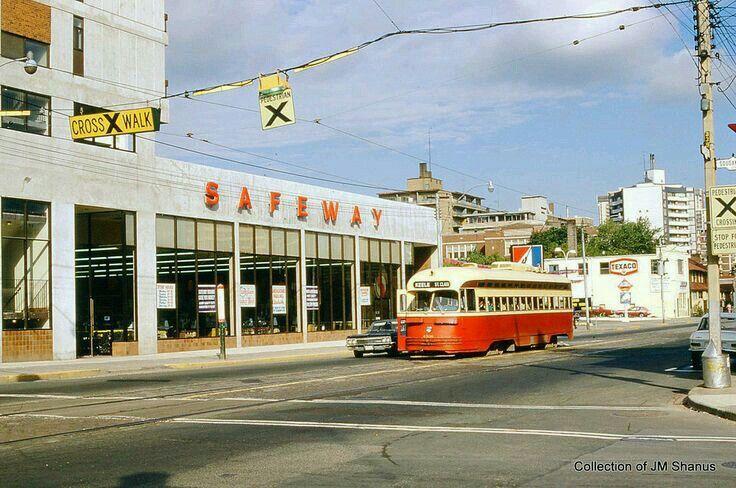 Toronto  TTC  PCC  Streetcar  on St. Clair