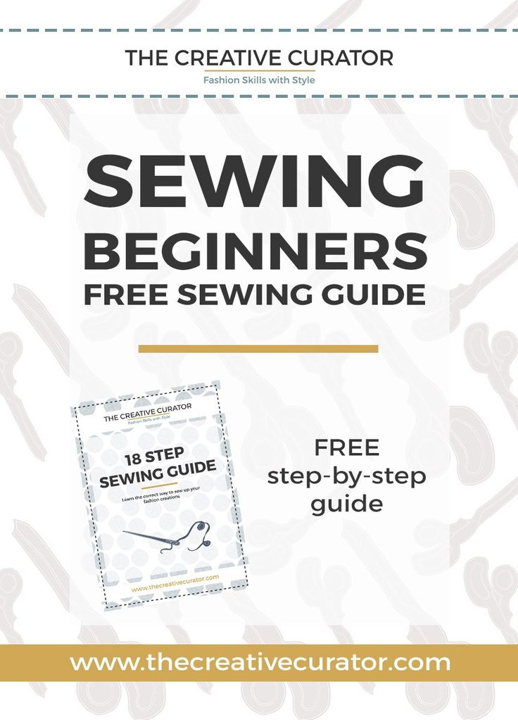 how to learn to sew with a sewing machine