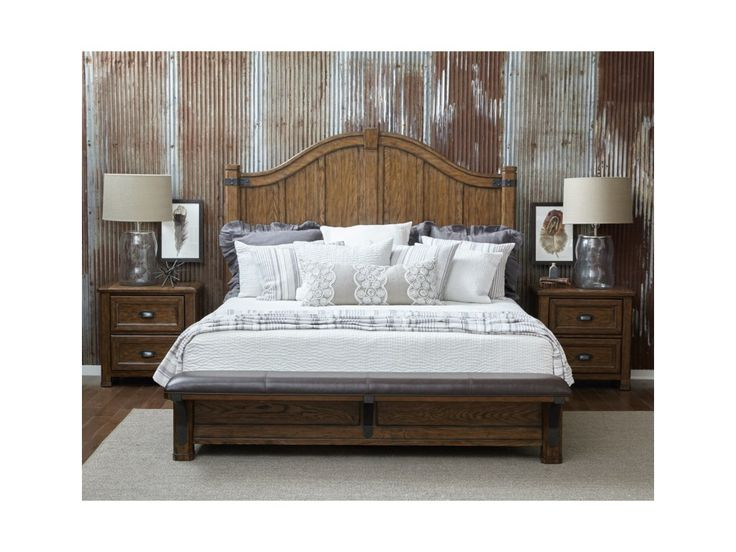 Heartland Falls Queen Bedroom Group by Eric Church's Highway to Home  @Darvin Furniture