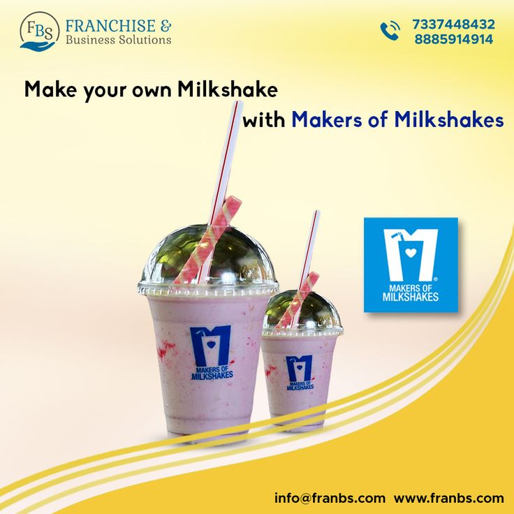 One of the best milkshakes brand in India, Makers of