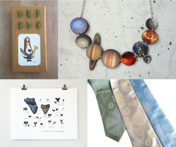 Scientists   Nature lovers   Explorers Terrapin and Toad: Etsy gift guide and wrapping ideas