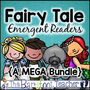 Fairy Tale Emergent Readers Bundle - 16 favorites bundled in one download! $