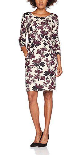0dec9a9aec60a Saint Tropez Damen Kleid R6521 Mehrfarbig (Ice 1053) 38 (Herstellergröße  M)