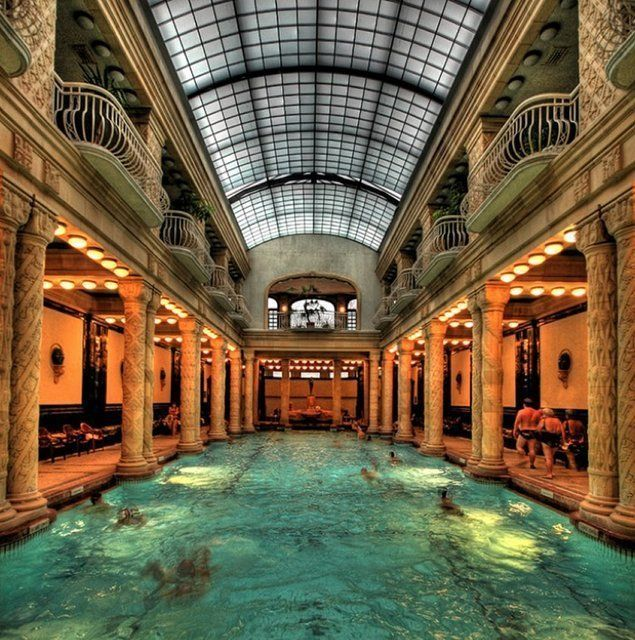 Gellert baths budapest fat hungarian ladies slapping for A list salon budapest