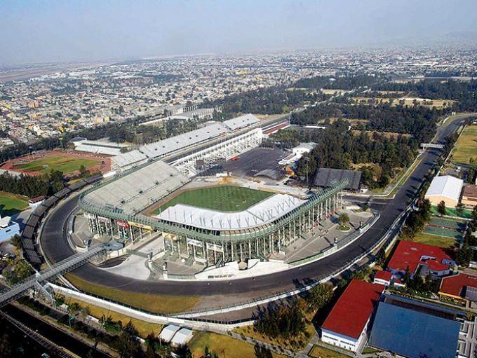 Autódromo Hermanos Rodríguez /2015 MexicoGP circuit