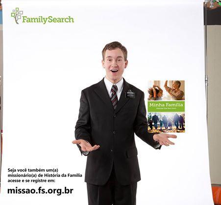 Que tal você ser um(a) missionário(a) de tempo parcial em história da família? Há oportunidades formidáveis, como a de servir no Suporte ou nos projetos Wiki do FamilySearch trabalhando de sua própria casa, ou ainda trabalhando na preservação de registros num arquivo próximo de você, dentre outras.  Interessados: favor acessem e se inscrevam em http://missao.fs.org.br #missaohf #familysearch