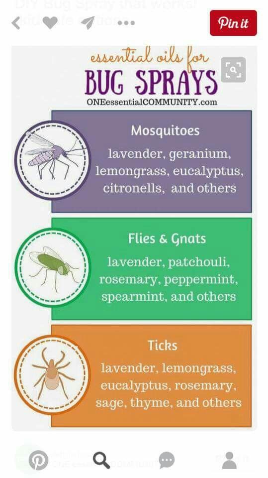 Bug spray blends