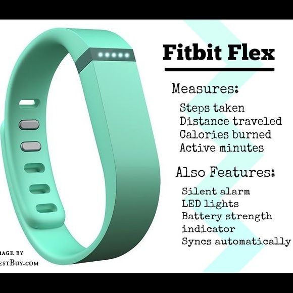 New Tiffany's Blue FitBit Flex in Teal Brand new without the box. I opened it to set up and then it just sat there plugged into my laptop and I have no idea where the box went lol. Nike Accessories Watches