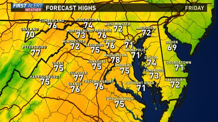 Local Weather Forecast DC Maryland Virginia | WUSA9.com